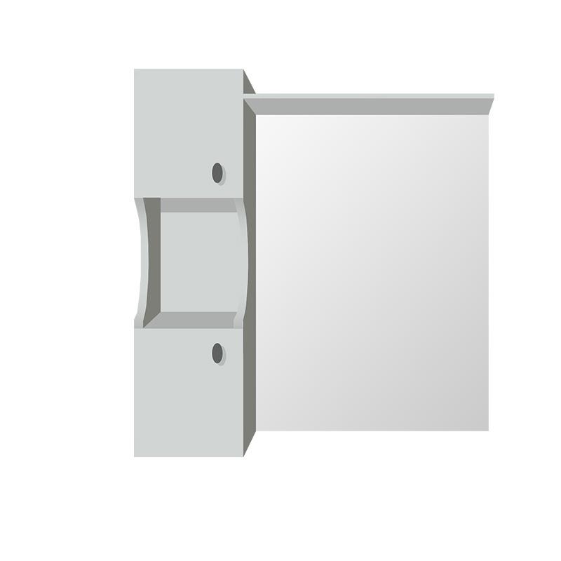 ogledalo za kupatilo, od medijapana, beli