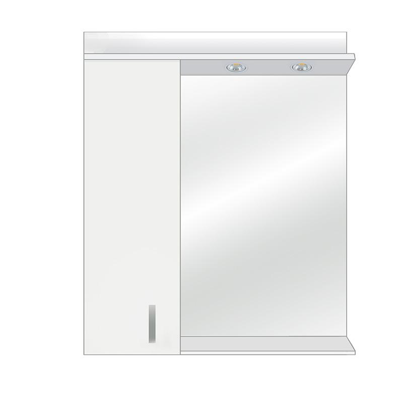 ogledalo za kupatila, od medijapana, beli