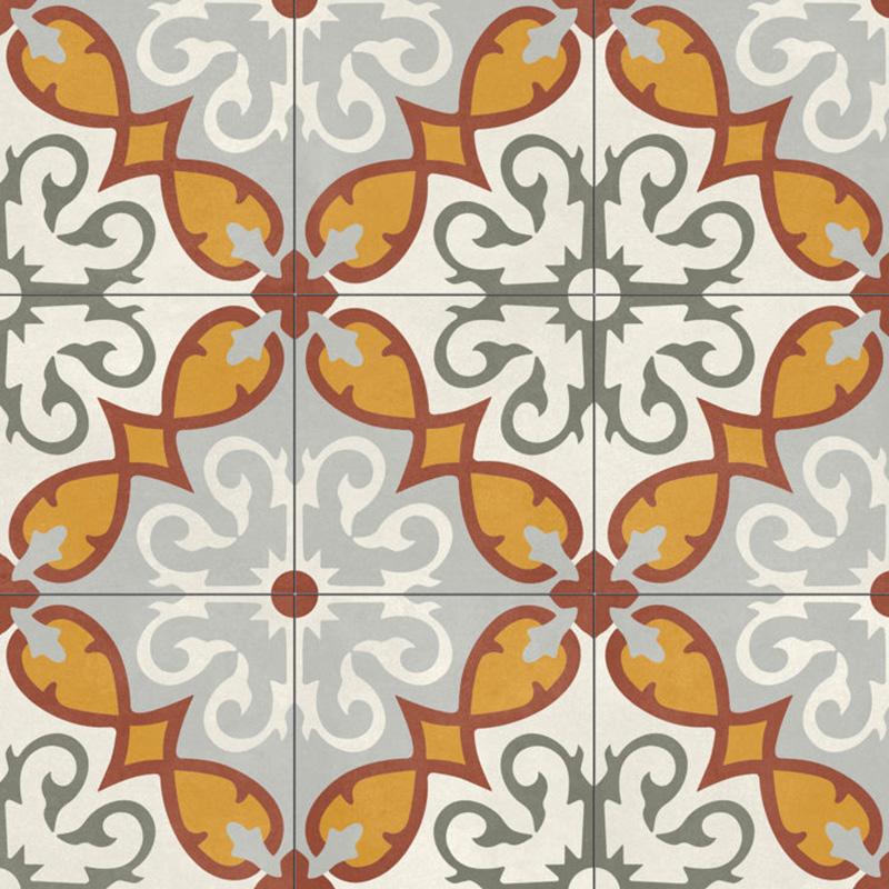 lux plocice, aparici, porcelanske plocice, dizajn, sarene plocice, spanske plocice, narandzaste